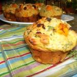 Pumpkin Feta Muffin