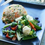 Chinese Fried Rice & Stir Fry Veggies