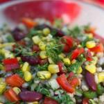 Barley and Confetti Salad