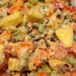 Hawaiian Sweet Potato Salad