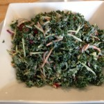 Kale Salad with Broccoli Slaw