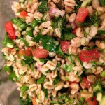 Farro Salad with Market Vegetables